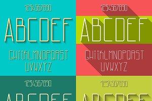Set flat alphabet
