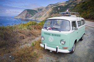 Vintage VW Bus PC1