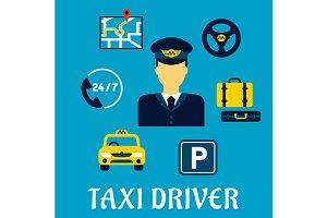 Taxi driver profession