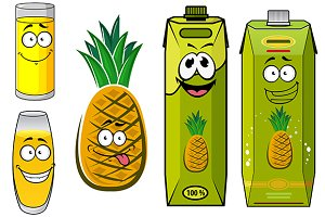 Funny pineapple juice