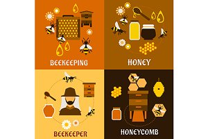 Honey, apiculture and beekeeping