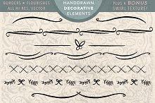 Hand Drawn Decorative Elements