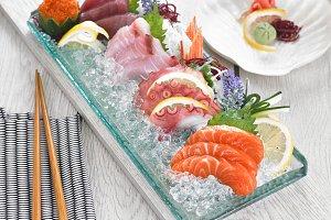 Sashimi Deluxe Set
