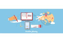 Vacation Planning Icon