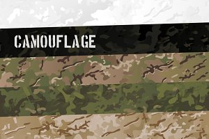 Military Camouflage Patterns Sets