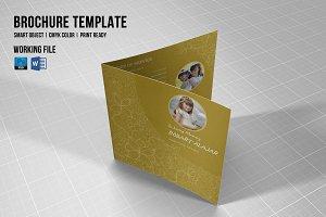 Funeral Program Template-V366