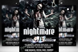 Nightmare Flyer Template