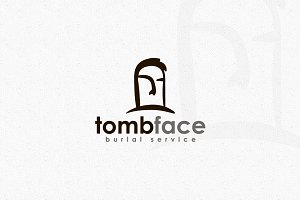 Tomb Face Logo