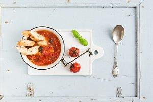 Italian soup Pappa al Pomodoro