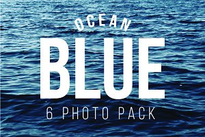 Ocean Blue 6 Photo Pack