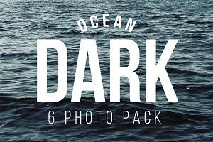 Ocean Dark 6 Photo Pack
