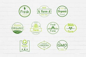 Farm Badges Logos