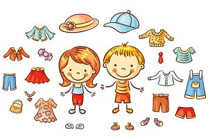 Summer Clothes Set Kids