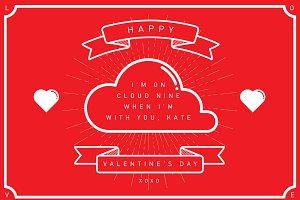 cloud9 valentine's day template