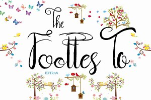 Footes To Script Font