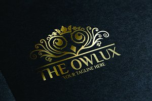 The Owlux / Owl - logo