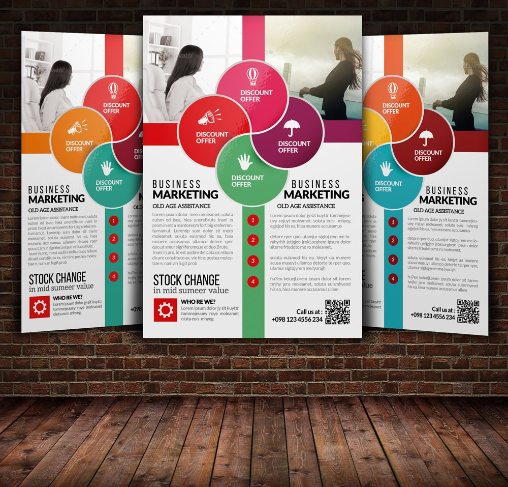 conference flyer template photos graphics fonts themes business training flyer template