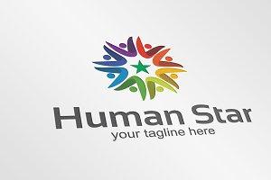 Human Star - Logo