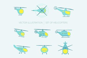 Nice set of helicopters