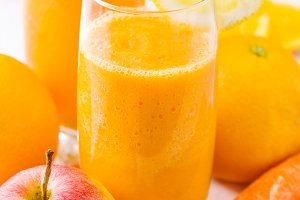 Smoothie with carrot