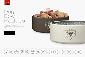 Dog Bowl Mock-up