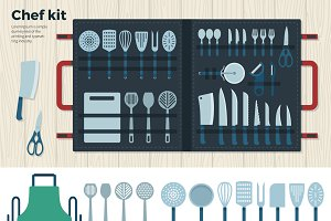 Chef Kit Tools for Cooking