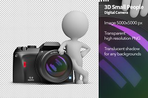 3D Small People - Digital Camera