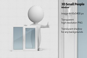 3D Small People - Window