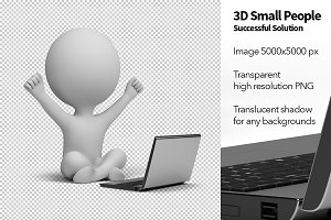3D Small People - Solution