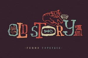 Old story typeface