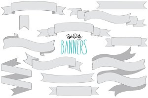 Banners - Vector & PNG