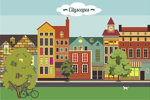 Cityscapes set