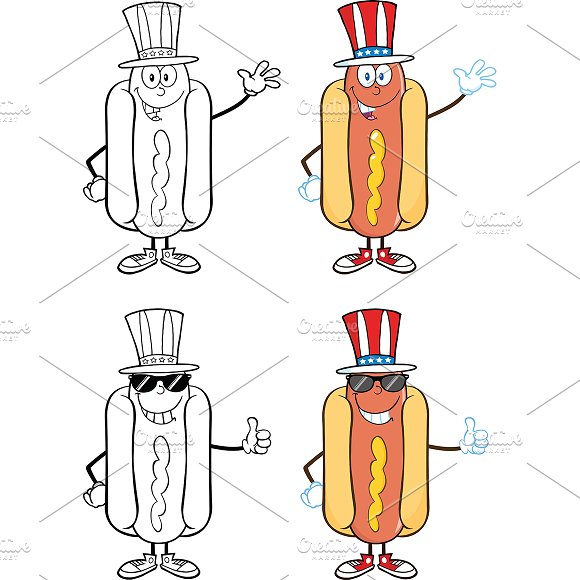 Hot Dog Collection - 6