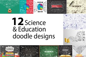 Education  doodle bundle