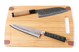 Two top grade japanese knives