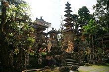 Balinese Temple in Ubud,Bali Island