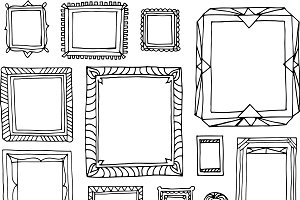 Picture Frame Illustrations