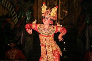 Traditional Balinese Dancer