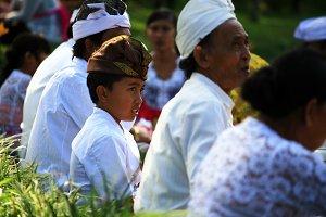 Little Boy in Bali,Indonesia
