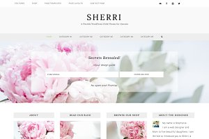 Sherri // Flexible WordPress theme