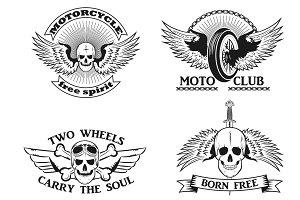 Moto logo. vector