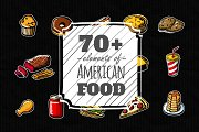 70+ elements of American food