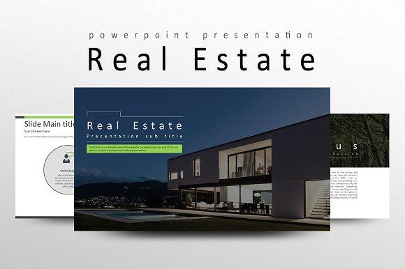 real estate presentation templates creative market