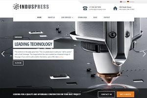 IndusPress WordPress Theme