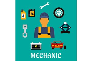 Mechanic profession and equipment