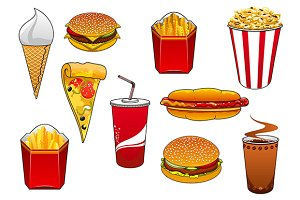 Fast food and takeaway snacks
