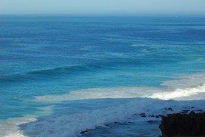Beach Ocean Waves Water Sea Stock