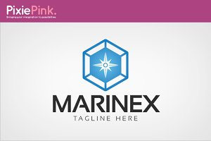 Marinex Logo Template