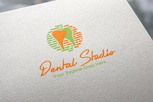 Dental Studio Logo Template