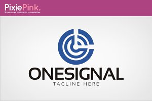 One Signal Logo Template